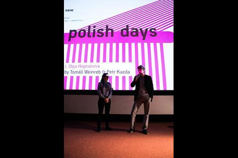 Polish Days - producer Agata Walkosz and director Tomas Weinreb presenting a work in progress of I, OLGA HEPNAROVA fot.K.Szwarc